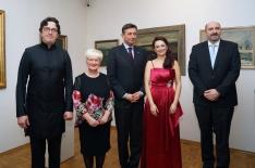 Metlika exhibition opening ceremony